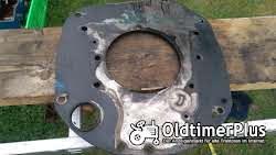 Hanomag R435 Motorschild - Adapterplatte D28 Motor Foto 3