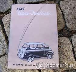 Betriebsanleitung Fiat 500 F L 1970 Foto 5