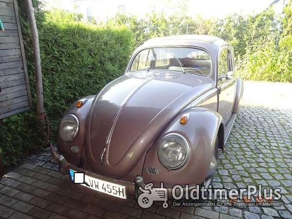 VW _ Käfer Ovali Export mit Faltdach Foto 1