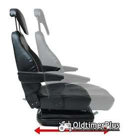 Universal Traktorsitz mit Feder - Öldämpfer System, belastbar bis 130 kg NEU Foto 3