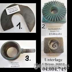 Mengele Maishäcksler, Ersatzteile, MB2, MB3, MB280, MB350, usw. Foto 2