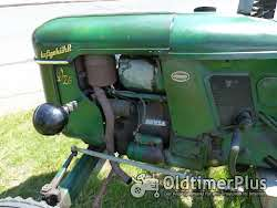 Deutz D 25 mit Messerbalken in Original Patina Oldtimer Schlepper Foto 7