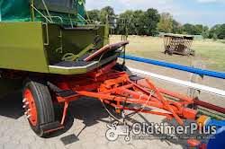 Eisenwerk Grümer Planwagen - Anhänger – Einzelstück – Typ DB 8000 – DB 80 Foto 2