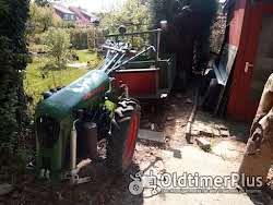 Bungartz Einachschlepper L5D mit Anhänger, Original Betriebserlaubnis Foto 6