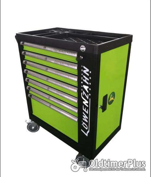 Werkstattwagen XXL gefüllt Schaumstoff Einlagen Bestückt OVP Foto 1