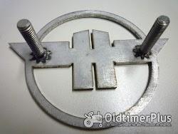 Hanomag Massives Rundes Emblem Foto 2