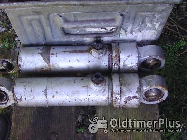 Hydraulikylinder Foto 1