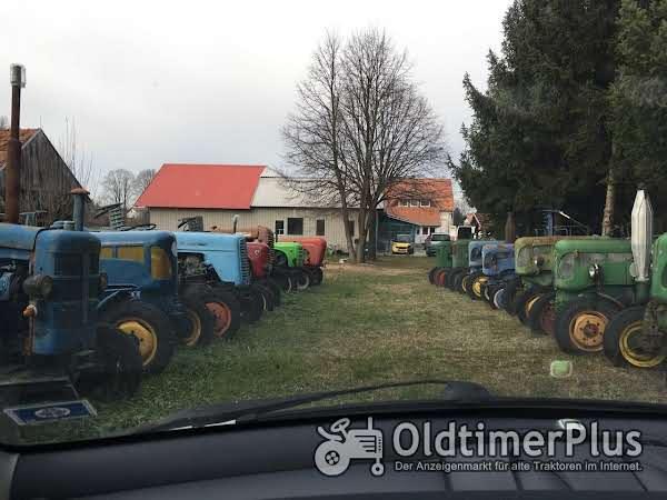 Sonstige Sammlung 40 oldtimer Traktoren Steyer, Bulldog... Foto 1