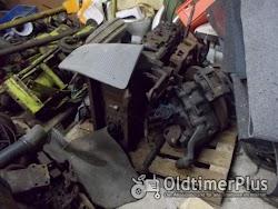 MB TRAC 800 Motor mit Getriebe , Achsen etc. Foto 3