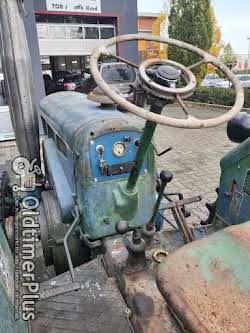 LANZ BULLDOG D1616 Seltener Kurzhauber Schnellläüfer Foto 2