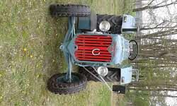 Hürlimann Oldtimer Traktor Hürlimann D200