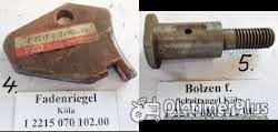Köla, Ködel & Böhm, Welger, Presse, Strohpresse, Niederdruckpresse, Hochdruckpresse, Heupresse, Ersatzteile Foto 4
