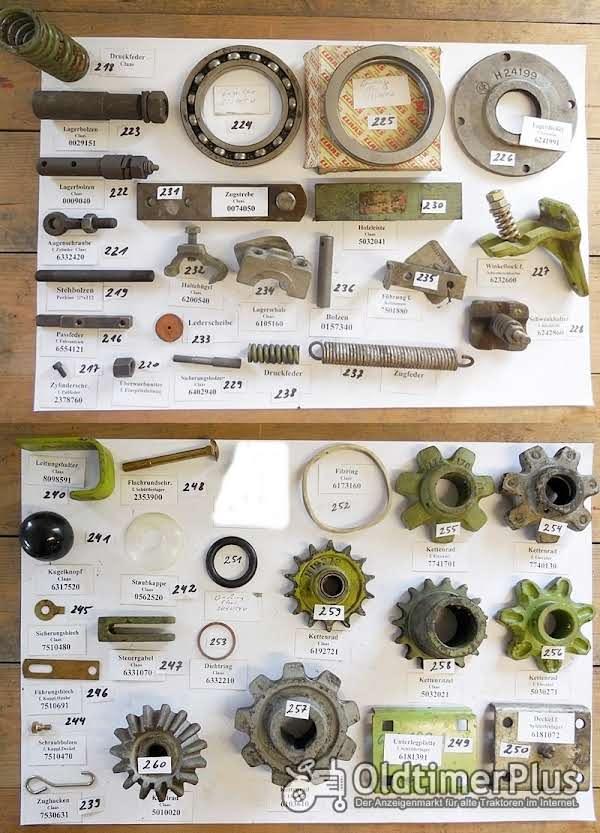 Claas Mähdrescher, Presse, Perkins-Motor, Ersatzteile, Sortiment D Foto 1