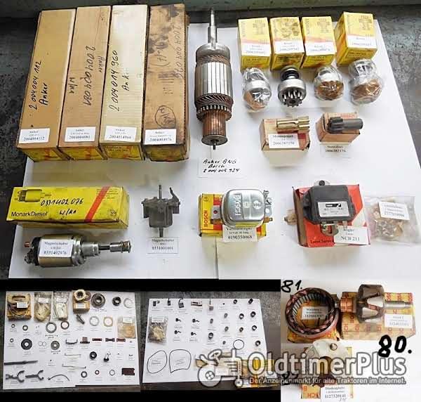 Bosch, Lukas Anlasser, Strarter, Lichtmaschine, Generator, Anker, Ritzel, Ersatzteile Foto 1