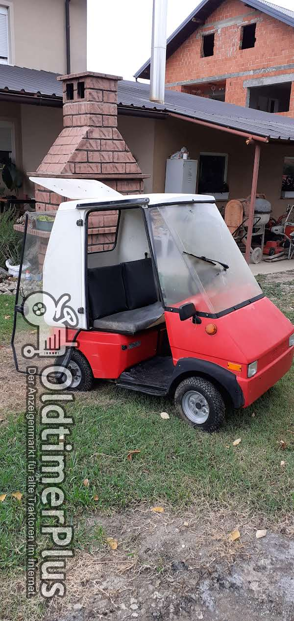 Electric car   GRAF Carello Duett Foto 1