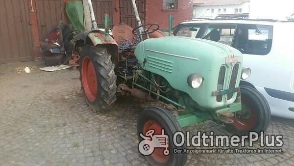 Kramer Traktor KL 300 mit 2 Zylinder Luftgekühlten Deutz Dieselmotor Foto 1