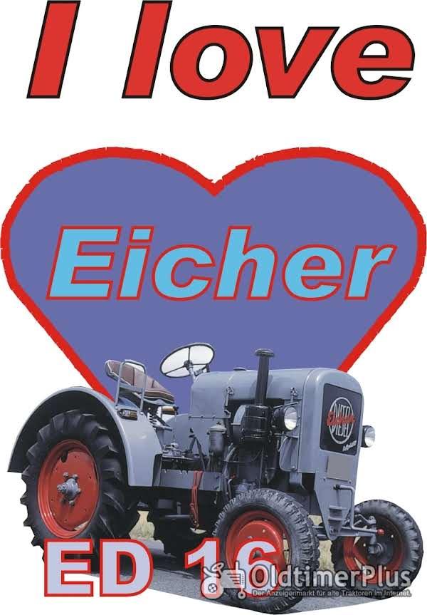 I love Eicher ED 16 T-Shirt Foto 1