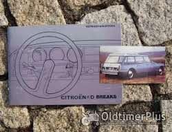 Betriebsanleitung Citroen D Super D Special ID / DS 1971 Foto 6