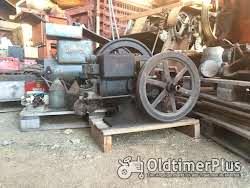 Standmotor IHC Deering 1,5PS Benzinmotor Typ M, kleinster gebauter Foto 2