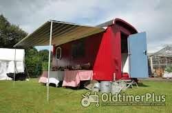Bauwagen, Schäferwagen, 80km/h, Schnellläufer, Zirkuswagen mit Holzdecke Foto 4