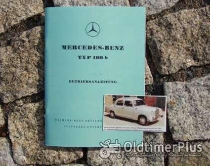 Betriebsanleitung Mercedes 190 b Ponton 1959 Foto 1