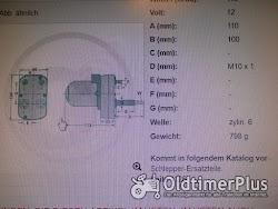 Unbekannt Scheibenwischermotor Foto 2