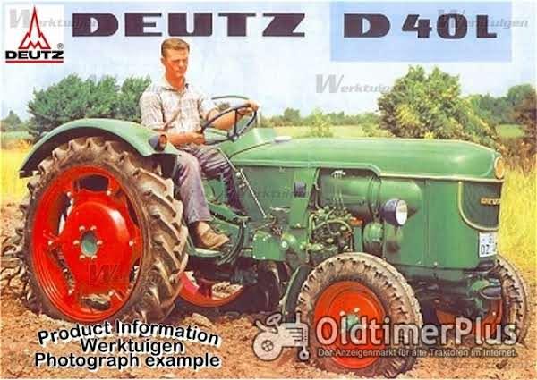 Deutz D 40 L, F3L712 Foto 1