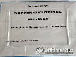 Sortiment 540 Stck. div. Maße Kupferringe Foto 2