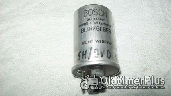 BOSCH SH/BVD 12B7 BLINKGEBER NEU Mercedes 190 /  Borgward P100 Foto 1