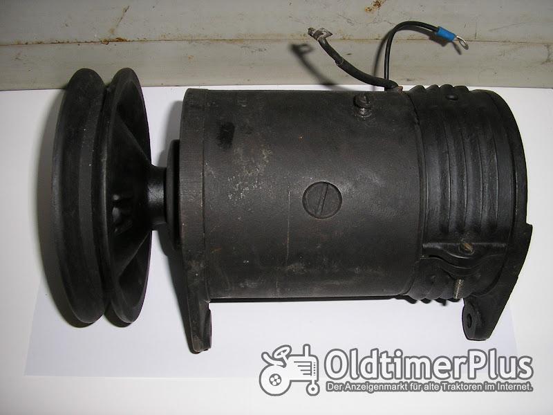 Bosch Lichtmaschine vom Deutz F2L 514 Foto 1