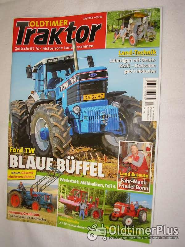 Oldtimer Traktor Zeitschrift von 2007 bis 2015 Foto 1