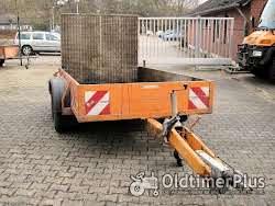 Klagie Profi PKW Anhänger, gebremst, Rampe, Transport, Garten, Holz, Landwirtschaft, Möbel, Foto 3