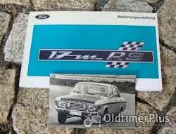Betriebsanleitung Ford P7a 20M V6 1967 Foto 3