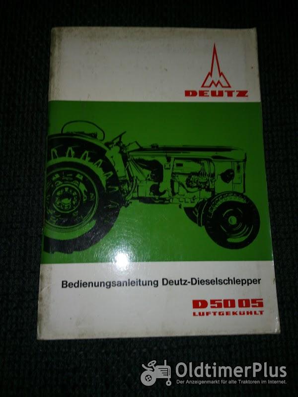 Deutz D 5005 Bedienungsanleitung Foto 1