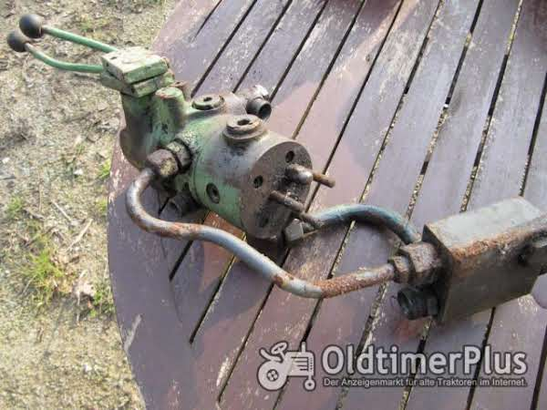 Fendt Farmer 3s Hydraulik Steuergerät 2 Hebel Foto 1