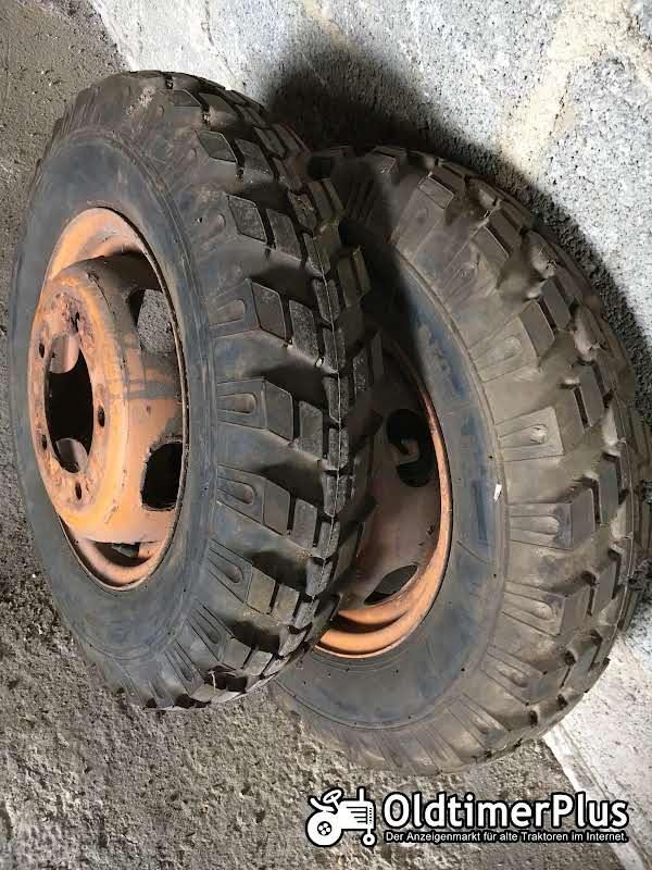 Dunlop Frontreifen für Traktor Foto 1