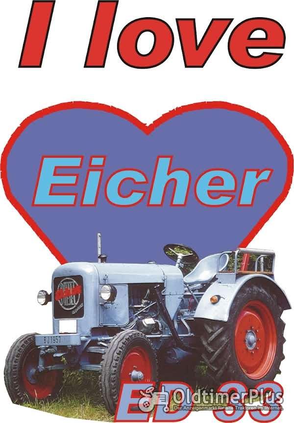 I love Eicher ED 33 T-Shirt Foto 1