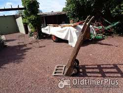 Oud Houten Steekwagentje Met Volle Banden Foto 2