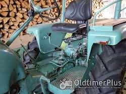 MAN -Schlepper Traktor 25 PS Sehr guter Originalzustand mit passendem Anhänger Foto 4