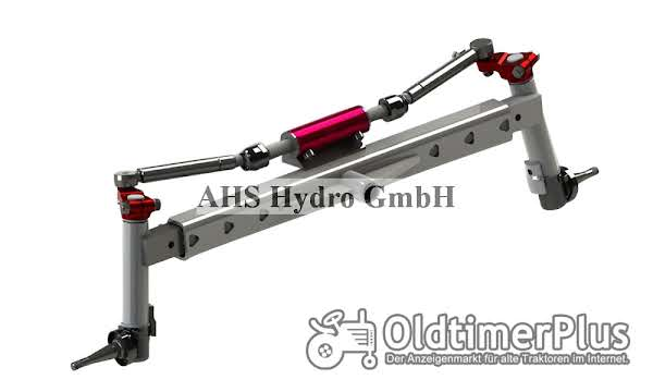 Calzoni Rcd. Ognibene Hydrostat Lenkung IHC Case IH Foto 1
