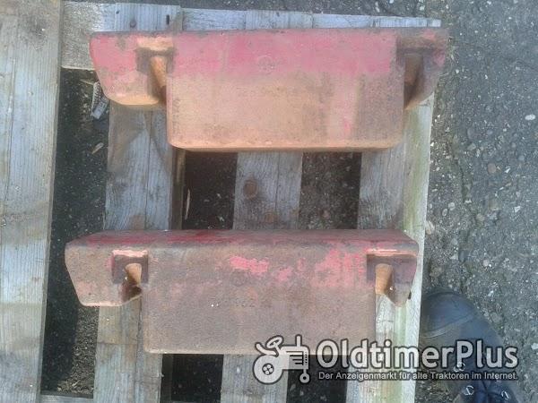 IHC Front- oder Koffergewichte  Foto 1