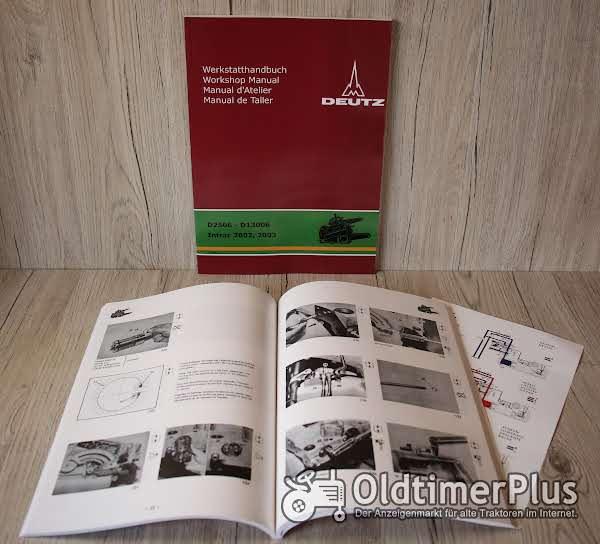 Deutz Werkstatthandbuch Traktor Hydraulik Baureihe 06 und Intrac 2002 und 2003 Foto 1