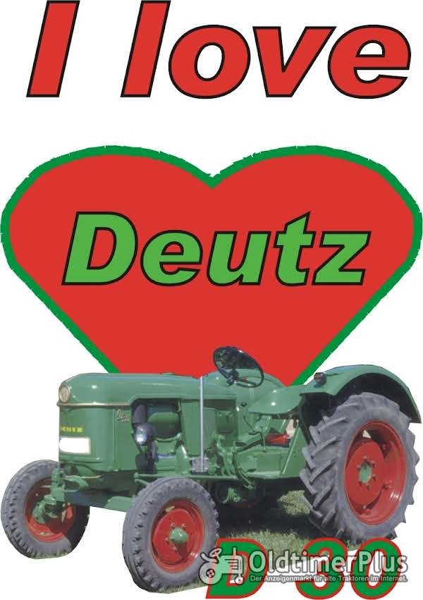 I love Deutz D 30 T-Shirt Foto 1