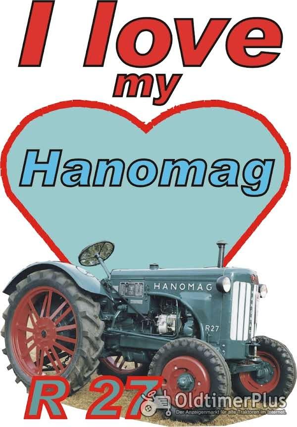 I love Hanomag R 27  T-Shirt Foto 1