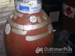 1 Gasflasche 20l gefüllt Linde TÜV 2014 Orgienal verpakt. Nur Abholung/ Eigentumflasche Foto 4