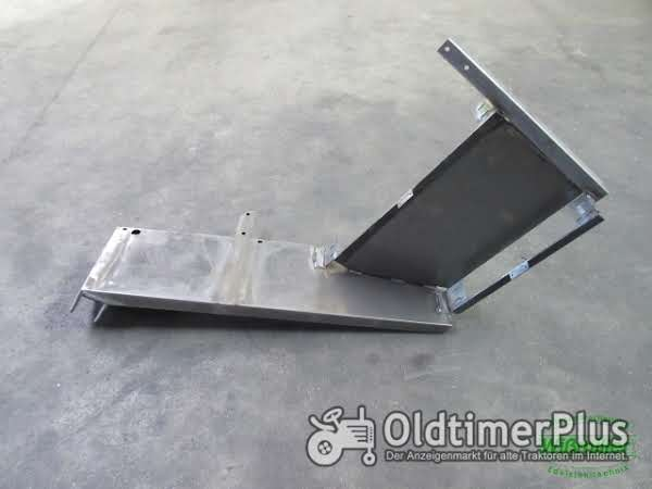 MB Trac 700 800 900 1000 1100 Kotflügel vorn 2-stufig 300 mm Schutzblech Blechteil Foto 1