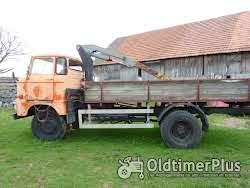 IFA W 50 Pritsche mit Ladekran Foto 2