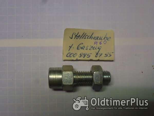 Holder A60 Stellschraube für Gaszug Foto 1