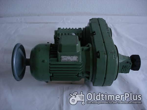 HEW Elekromotor mit Untersetzung Foto 1