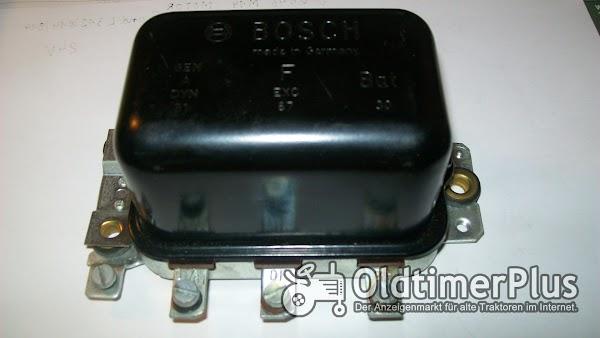 Bosch 0190312005  neu    (RS/UDA 200 M 12/8) Regler 14 Volt 16 A    z.B.für für Fiat, Ford, Moto Guzzi, .siehe Bilder Foto 1